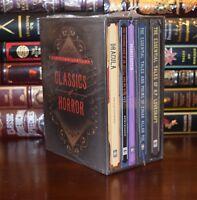 Classics of Horror Lovecraft Poe Shelley Stoker Stevenson New Sealed Gift Set