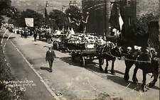 Holmfirth Wesleyan Centenary 1910 # 4. Floats & Banner.
