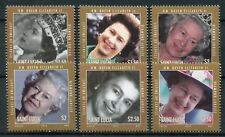 St Lucia 2012 MNH Diamond Jubilee Queen Elizabeth II 6v Set Royalty Stamps
