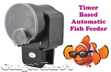 Timer Based Automatic Aquarium Fish Feeder 2 X AA Battery Operated