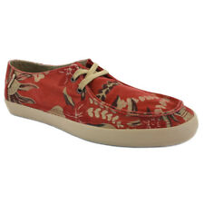 VANS Men's Rata Vulcanized Aloha Shoes - Red - UK 6 - New