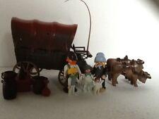 playmobil huifkar/koets/western familie nr 7   3278/3770/3666