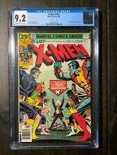 Uncanny X-Men #100 CGC 9.2 NM- featuring the old X-Men vs the new X-Men!