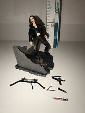 Buffy The Vampire Slayer Faith Figure With Some Weapons