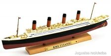 RMS TITANIC TRANSATLANTICO DIECAST ATLAS BARCO DE METAL A ESCALA