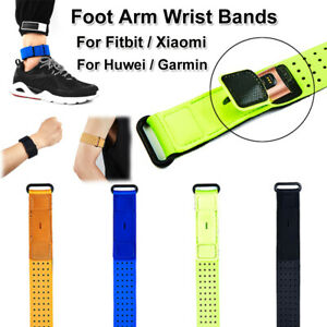 Adjustable Wrist strap Pouch Arm Band Foot For Fitbit Xiaomi Huawei Garmin