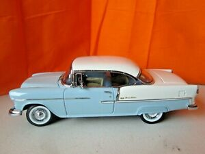 Danbury Mint 1955 Chevrolet Bel Air Hardtop 1:24 Diecast No Box