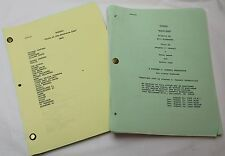 Wiseguy * Original 1990 TV Series Scripts (2x) Crime, Drama, Mystery TV Show
