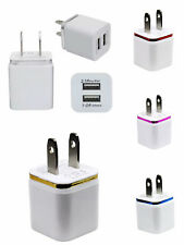 5X 2.1A 2 Ports Dual USB Home Travel Wall Charger US Plug For iPhone Samsung