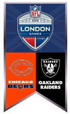 NFL LONDON GAME LAPEL PIN CHICAGO BEARS OAKLAND RAIDERS TOTTENHAM COLLECTIBLE
