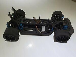 LRP Chassis Roller S10 BLAST TC mit Servo Räder Moosgummi