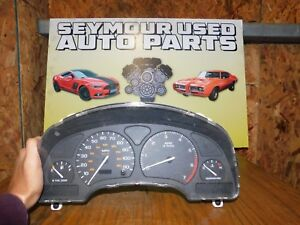 2002 SATURN S SERIES SEDAN SPEEDOMETER INSTRUMENT CLUSTER GAUGES US SOHC