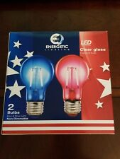 Energetic Red & Blue Holiday Party LED Light Bulbs 1024104