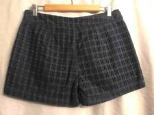 cabi - womens sz 6 - Navy Blue EYELET Lace Cotton SKORT (skirt w/ Shorts)