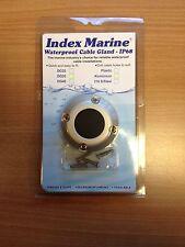 NEW INDEX Boat Waterproof Cable Gland Aluminium Rubber Marine Grommet DG 40 Rib