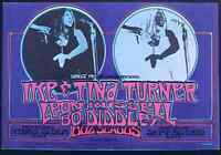 Ike & Tina Turner Concert Handbill 1970 Leon Russell Portland