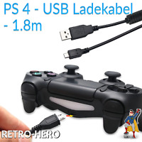 PlayStation 4 USB Charger Data Sync Power Cable Charging Gamepad PS4 Controller