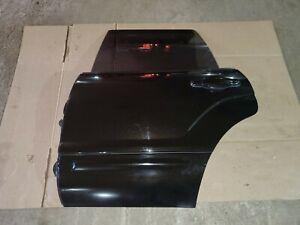 04-08 Subaru Forester XT Rear Driver Left Door Java Black Pearl 18L