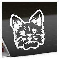yorkshire terrier Hund Aufkleber Sticker 25 Farben Neon Matt