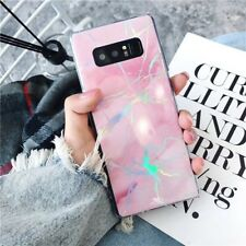 For Samsung Galaxy Note 8 S9+ Luxury Glitter Marble Pattern Soft TPU Case Cover