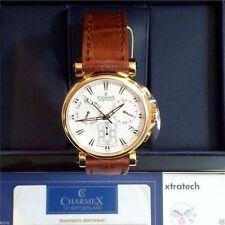 Elegante vergoldete Armbanduhren mit Chronograph