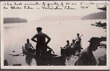 New listing VINTAGE PHOTOGRAPH WOMEN/MEN CANOE/BOAT FASHION SLIDE LAKE ONTARIO CANADA PHOTO