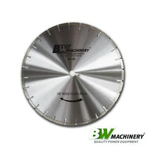 "BWM 16""/400mm AC40 Asphalt Concrete Cutting Diamond Blade *Free Shipping*"