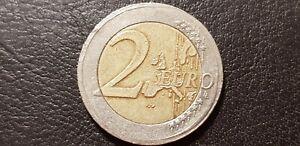 Austria,Ostereich 2 Euro 2002 Error Coin