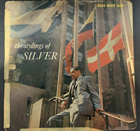Horace Silver The Stylings of Silver Blue Note 1562 RVG Mono W. 63rd No R