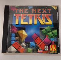 The Next Tetris CD ROM Windows 95/98 PC Game Jewel Case ATARI