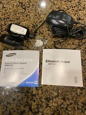 Samsung Bluetooth Headset WEP200 White W/cradle Charger