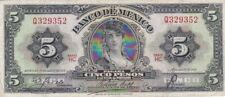 1958 Mexico 5 Pesos Note, Pick 60c