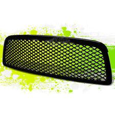 09-12 DODGE RAM 1500 DS/DJ SPORTS MESH FRONT HOOD BUMPER ABS GRILL/GRILLE BLACK