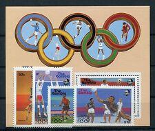 Gambia 706/09 Block 38 postfrisch / Olympiade ............................1/1958