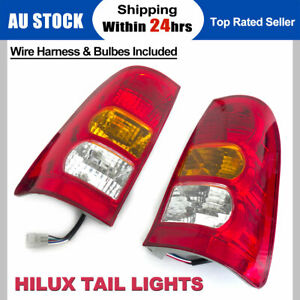 Fit For Toyota Hilux LH + RH Tail Lights Lamps Taillights Suit 2005-2011 Models