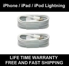 USB Lightning Charger & Data Sync Cable Lead For Apple iPhone 5 5s 5c 6 7 8 X XR