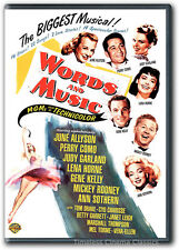 Words And Music DVD New June Allyson Judy Garland Mickey Rooney Gene Kelly