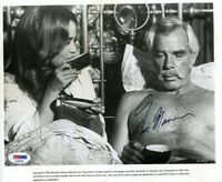 Lee Marvin Psa Dna Coa Autograph 8x10 Photo Hand Signed