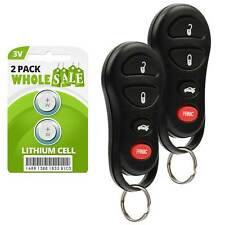 2 Replacement For 2001 2002 2003 2004 2005 2006 Chrysler Sebring Key Fob Remote