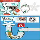 Home Bathroom Shower Drain Wig Chain Cleaner Hair Clog Remover Cleaning Tools