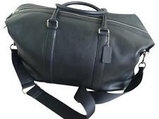 BRAND NEW COACH Men's Voyager 52 In Sport Leather Duffle Travel Black Travel Bag