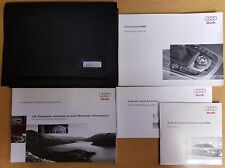 AUDI A4  AVANT / SALOON INFOTAINMENT/MMI NAVIGATION MANUAL 2007-2011 PACK B-565