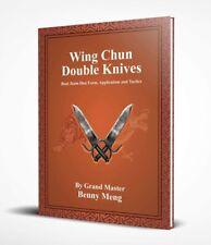 Wing chun BJD Knives book By GM Benny meng