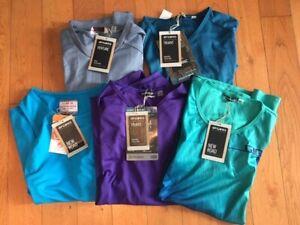 5 Giro Women's Cycling Jerseys (New road, Venture,Truant) - Small - $250 Retail