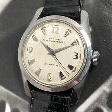 Croton Nivada Gretchen 60s Vintage Antarctic Automatic Watch ETA 2451 Frosty Gem