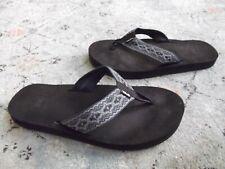 Teva Flip Flop Comfort Sandals Original Mush Hiking Outdoors Black Men's 11