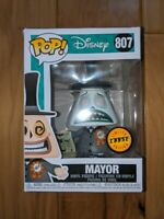 Funko Pop Disney The Nightmare Before Christmas Mayor Megaphone Chase SHIPS NOW