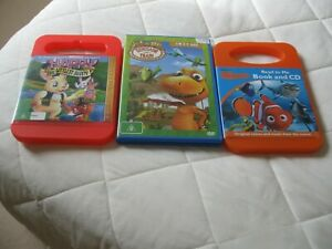Kids DVD'S 3 Selling Together for one price Little Bunny,Finding Nemo, Dinosaur