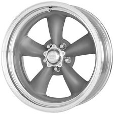 "American Racing VN215 Torq Thrust II 14x6 5x114.3/5x4.5"" -2mm Gray Wheel Rim"