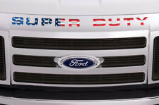 Super Duty Inserts Stickers Decals For Ford F250 F350 F450 2008-2016 USA FLAG